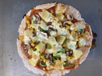 Quick and Easy Healthy Pizza